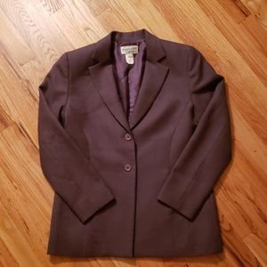 Vintage Pendleton Purple Wool Blazer